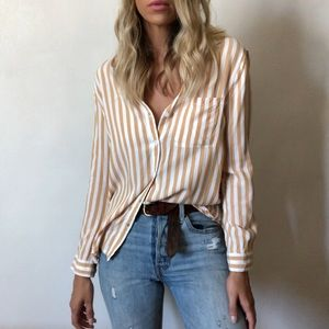 {Beachlunchlounge} striped blouse